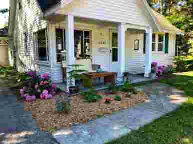 Hunger & Ransom Vacation Rental, Oscoda, MI · Front Yard