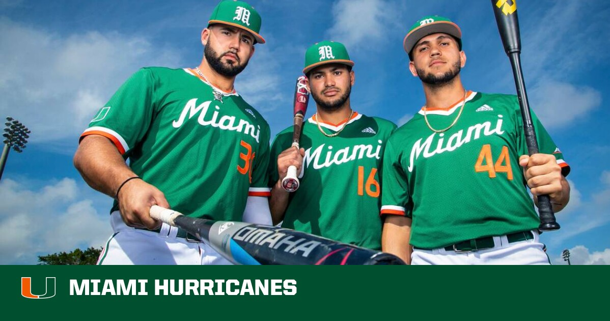 Baseball University Of Miami Athletics