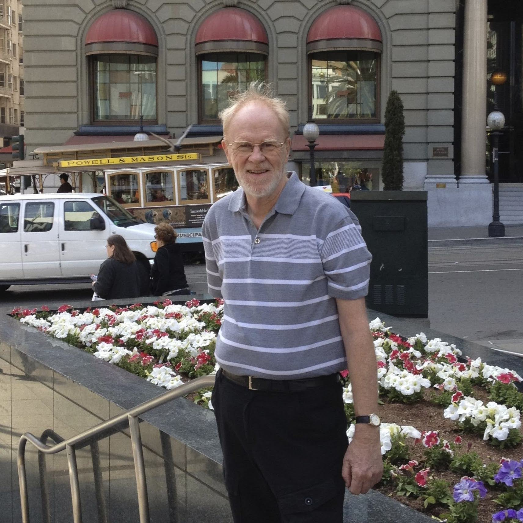 Dad in San Francisco