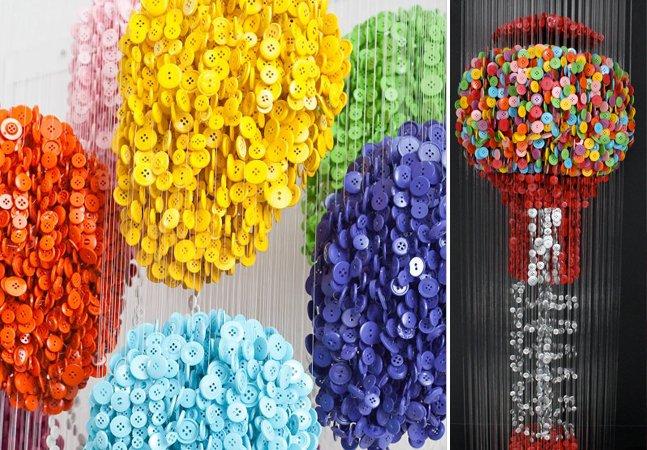 O artista que transforma botões em peças de arte inimagináveis