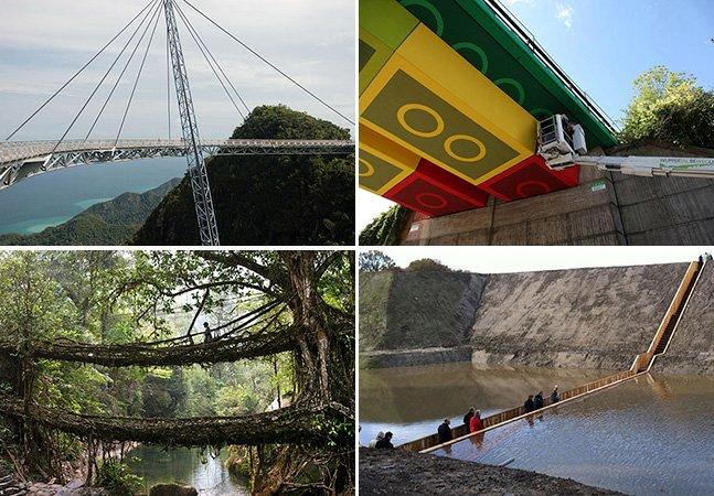 Veja 9 pontes criativas e fantásticas pelo mundo