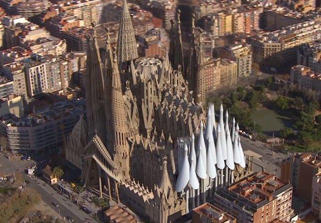 Vídeo mostra como será a catedral da Sagrada Família quando terminada