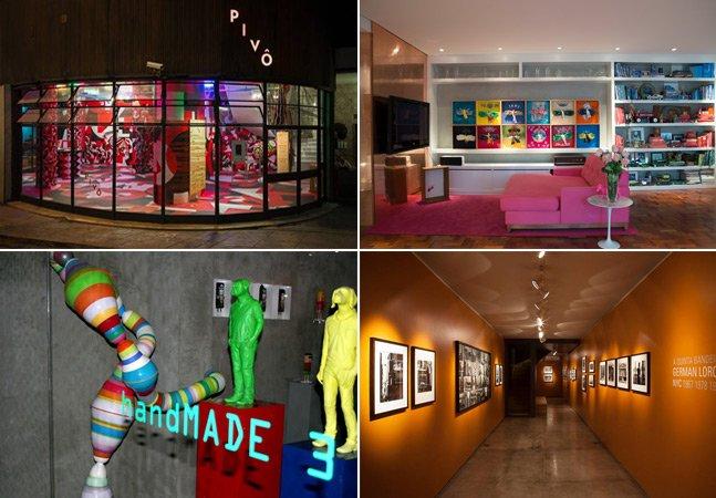 Seleção Hypeness: 25 galerias de arte criativas em SP que você precisa conhecer