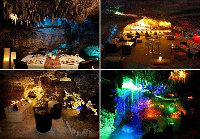 Conheça o inusitado bar mexicano que fica dentro de uma caverna natural