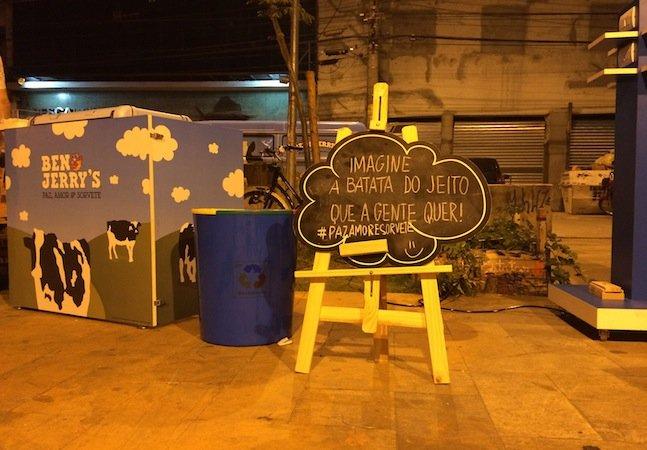 Ben & Jerry's leva recompensa para quem está transformando São Paulo numa cidade mais humana