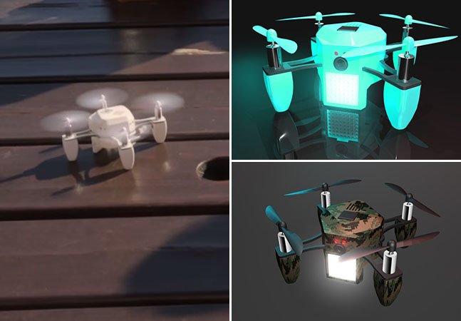 Mini drone consegue mais de 2 milhões de financiamento no Kickstarter
