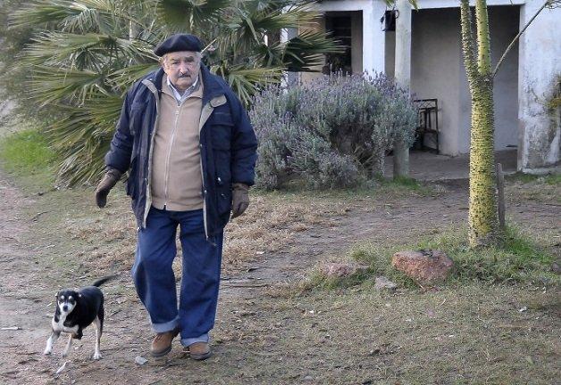 President Jose Mujica and his Wife Lucia Topolansky