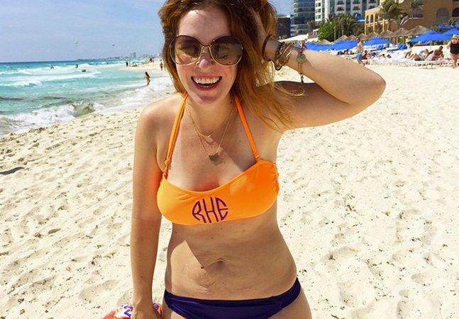 Porque a foto desta blogueira usando biquíni inspirou tantas mulheres