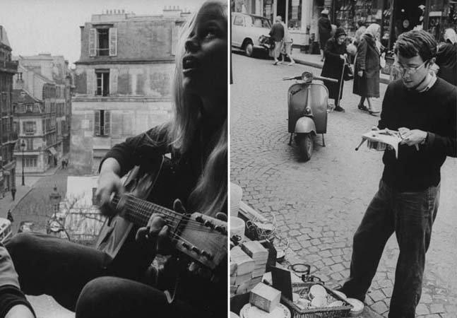 Série de fotos retrata a boêmia vida estudantil em Paris nos anos 60
