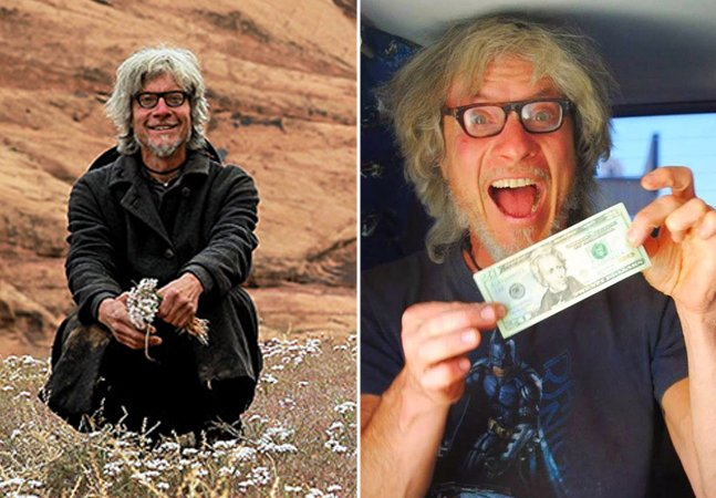 A história do homem que há 15 anos vive sem dinheiro