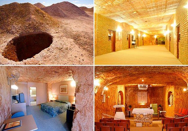 A misteriosa cidade australiana com cerca de 3.500 habitantes que fica dentro de um buraco