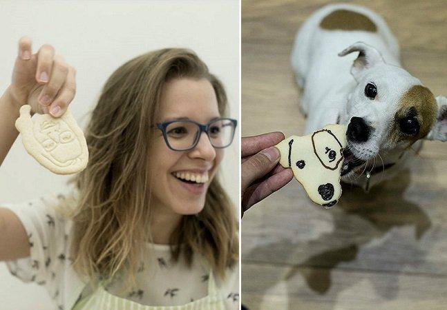 Empresa usa fotografias suas e de seus amigos para criar biscoitos personalizados para festas