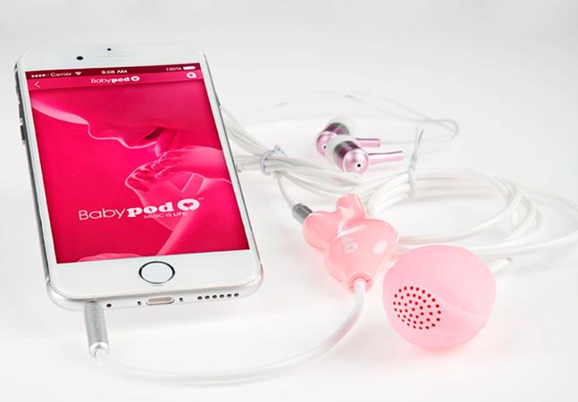 Dispositivo permite que fetos 'escutem' música durante a gestação