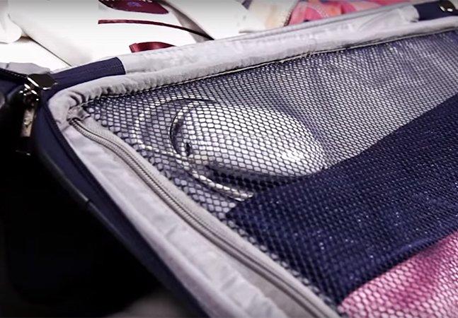 Empresária cria máquina de lavar roupa inovadora que cabe no bolso