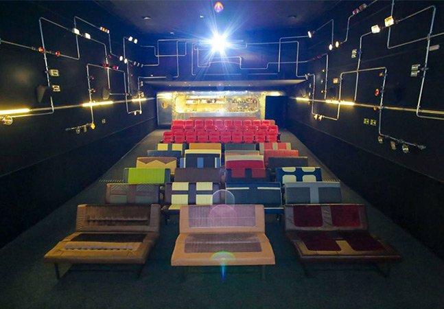 Inspirada nos cinemas antigos, Drive-in é a nova sala da Caixa Belas Artes em SP