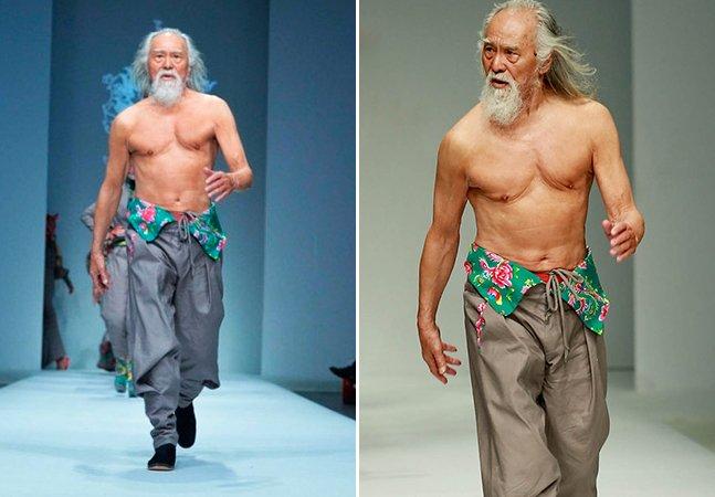 Este modelo de 80 anos é a nova sensação da internet
