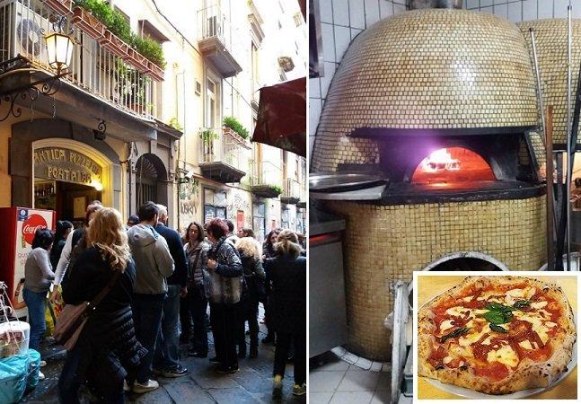 A pizzaria mais antiga do mundo  tem mais de 200 anos e continua uma delícia