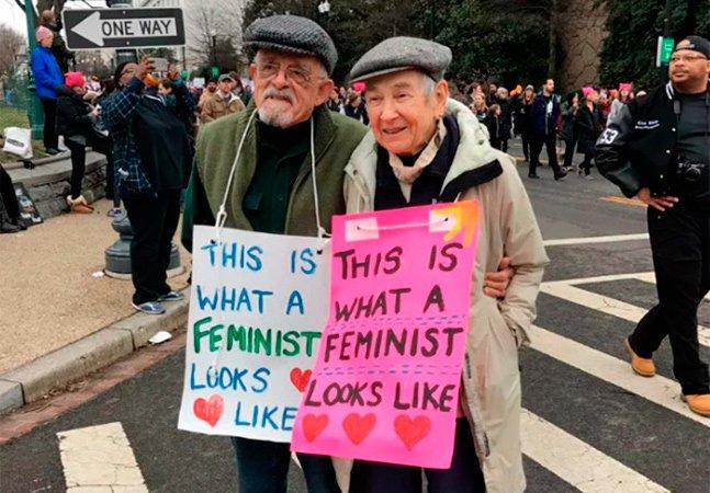 Estes são os cartazes mais criativos que deram o tom da 'Marcha das Mulheres'