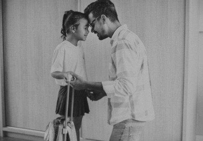 Fotógrafo brasileiro cria série linda e tocante sobre o dia a dia da filha após ficar viúvo