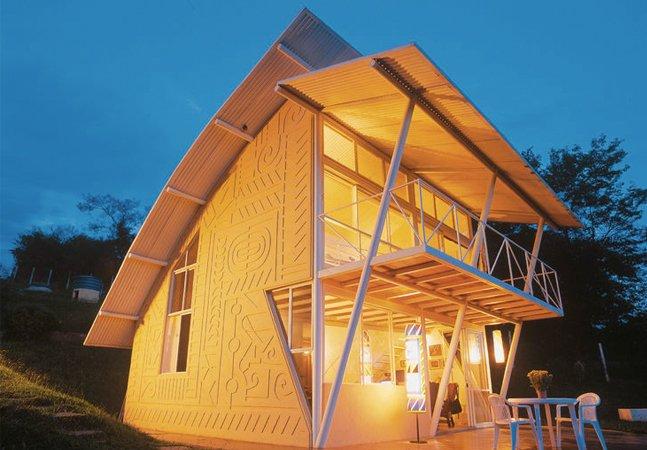Esta engenhosa casa de 86 m² em Minas é simplesmente apaixonante