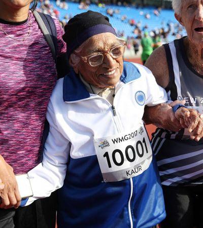 Estes 4 atletas com mais 80 anos mostram que determinação é tudo