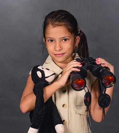 Ensaio transforma meninas de 6 a 14 anos em grandes mulheres da história