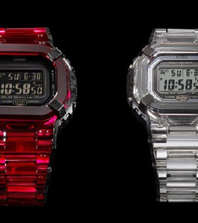 Conheça o novo G-Shock Sapphire Crystal, um relógio inteiro feito de Safira