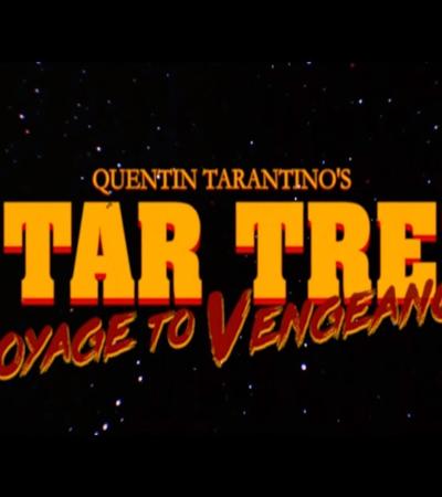 Trailer mostra como seria um filme de 'Star Trek' dirigido por Quentin Tarantino