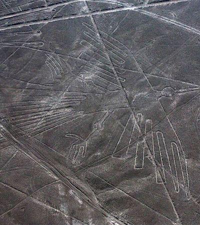 Choque de Cultura da vida real: Caminhoneiro estraga relíquia arqueológica no Peru