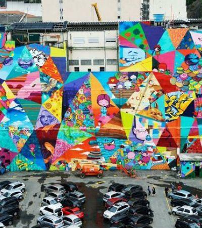 Fizemos um giro pela arte de rua carioca com o pessoal do #StreetArtRio