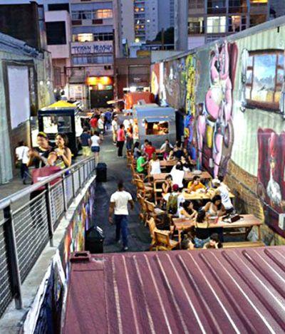 Fomos conferir o Urbanoide, novo espaço para food trucks em SP