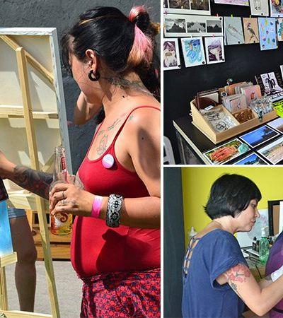 Acompanhamos o Trilha – Festival Feminino de Cultura Urbana em SP