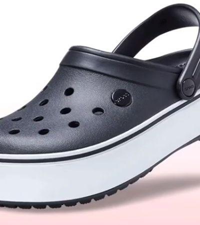 Depois do salto, Crocs aposta em modelo com plataforma