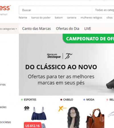 Dona da AliExpress quer criar centro de distribuição no Brasil