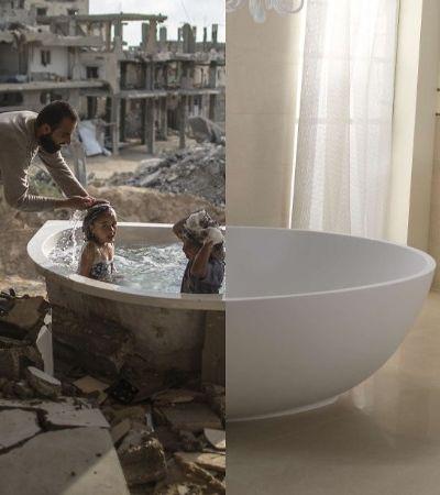 Série fotográfica traz novos contrastes entre os dois mundos em que vivemos