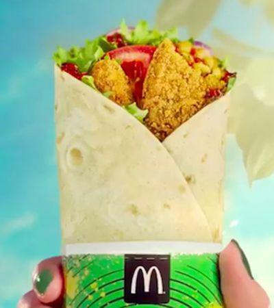 McDonald's apresenta sua primeira opção vegana de refeição em 2019