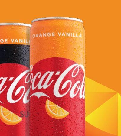 Após versão café, Coca-Cola cria sabor laranja com baunilha