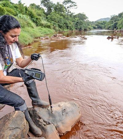 Lama da Vale está matando o Rio Paraopeba pouco a pouco