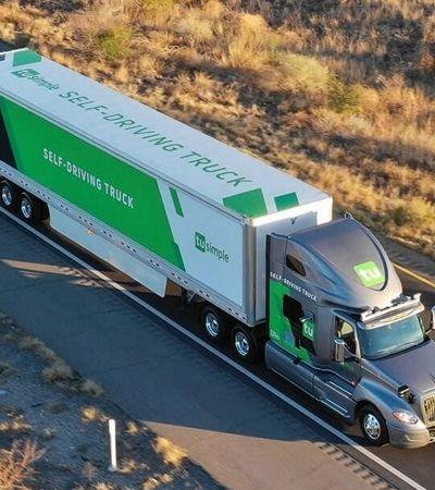 UPS testa entregas com caminhões autônomos nos EUA