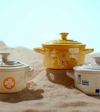 Linha de panelas Star Wars para que a força esteja nas suas refeições