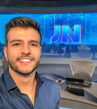 Prestes a estrear no 'Jornal Nacional', Matheus Ribeiro assume namoro com militar