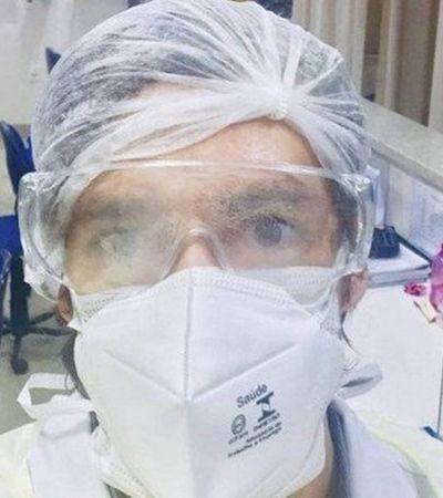 Médico dá depoimento angustiante sobre rotina na UTI e diz que não há respirador para todos