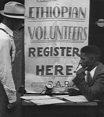 Afro-americanos se mobilizaram pra salvar última nação africana não colonizada de Mussolini, em 1935