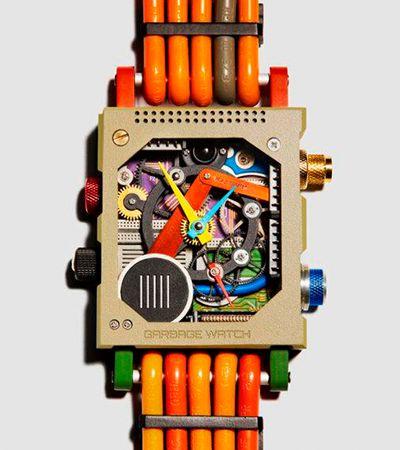 Relógio feito de lixo (e lindo) é aposta de empresa focada em inovação sustentável