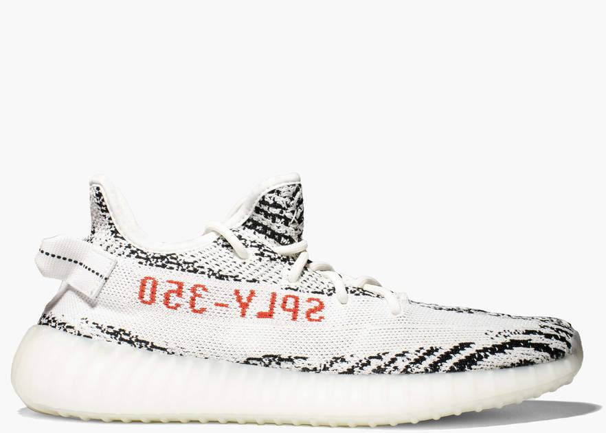 Adidas Yeezy Boost 350 V2 Zebra Hype Clothinga