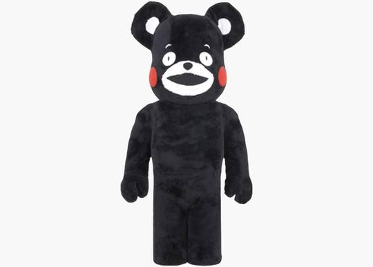 Bearbrick Kumamon 1000% Black Hype Clothinga Limited Edition