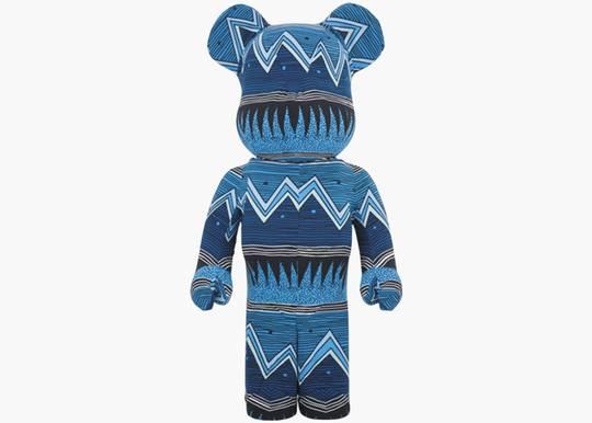 Bearbrick x Stussy 35th Anniversary 1000% Blue Hype Clothinga Limited Edition