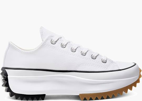 Converse Run Star Hike Ox White Black Gum hype clothinga