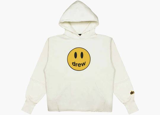 Drew House Deconstructed Mascot Hoodie off white