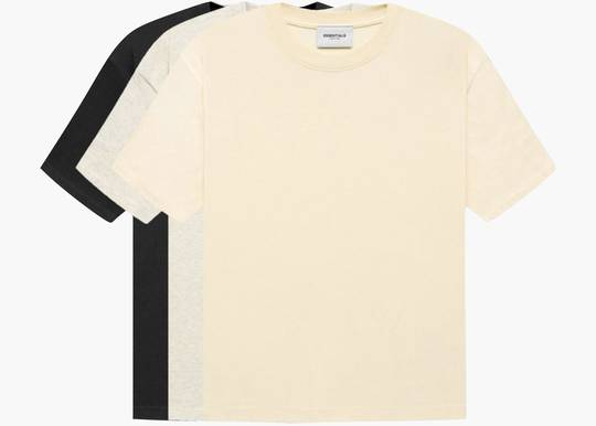 Fear of God Essentials T-shirts (3-Pack)